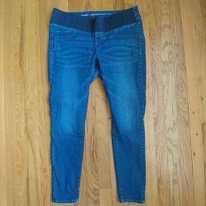 Old Navy Maternity skinny jeans size 12